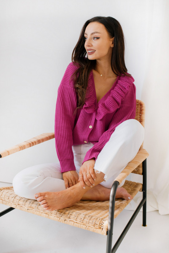 Sweter Ruby diva pink