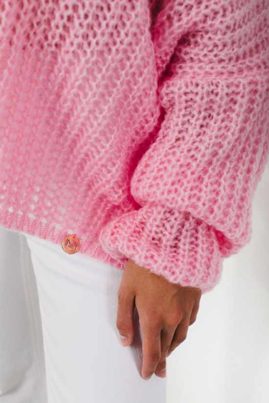 Sweter Lilly powder pink 4