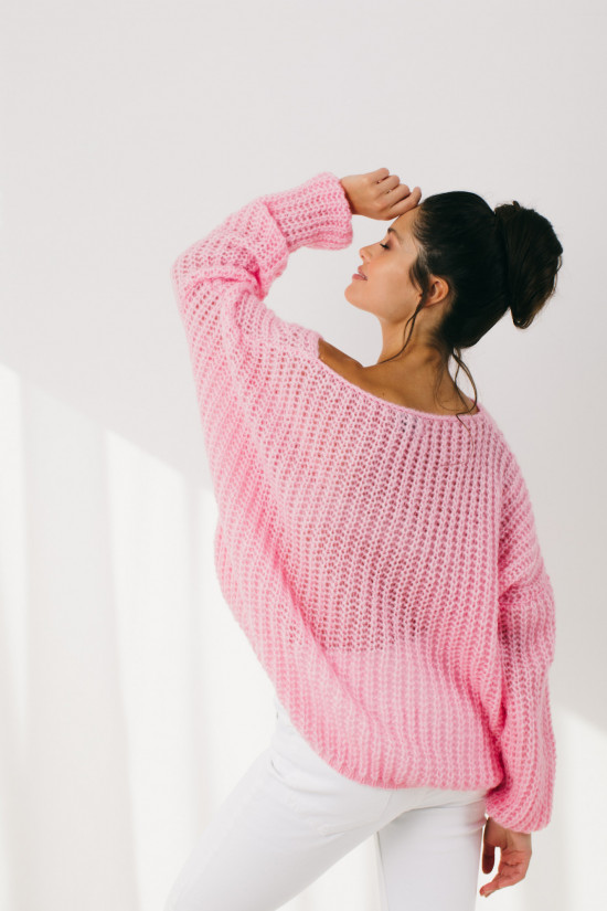 Sweter Lilly powder pink 6