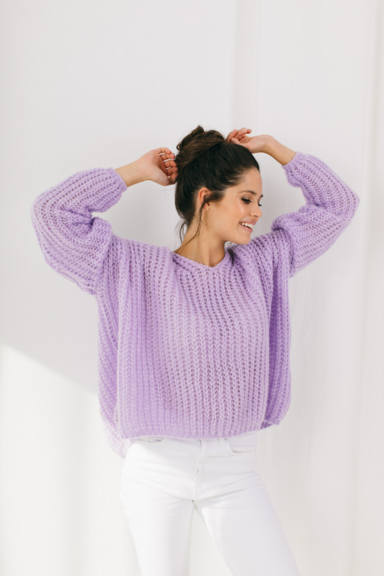Sweter Lilly lila 1