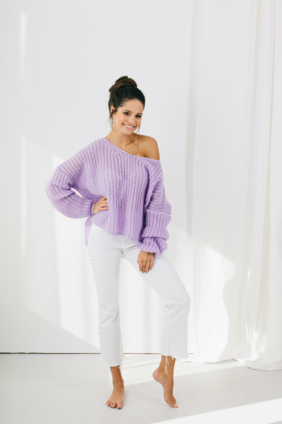 Sweter Lilly lila 3