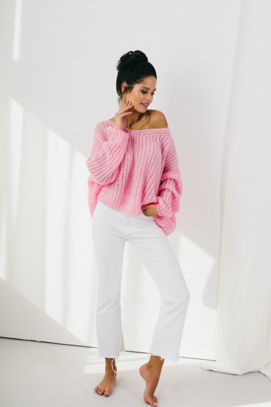 Sweter Lilly powder pink 7