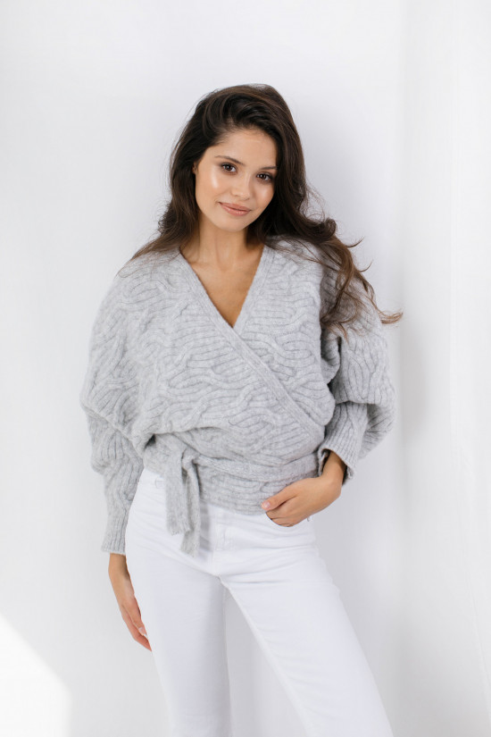 Sweter Joy light grey